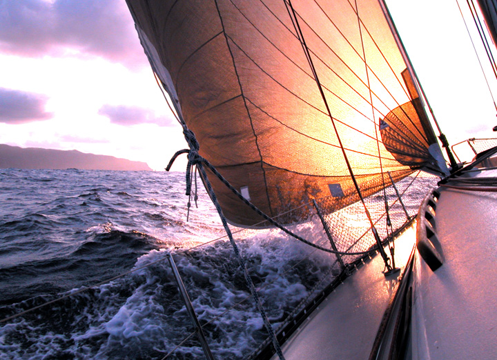 Romantic Honeymoon Sail on the Caribbean Sea